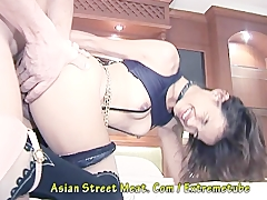 Eager Three Hole Willing Thai Street Girl