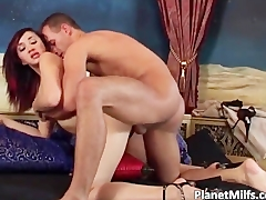 Redhead Asian doll getting fucked part3