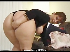 Naughty BBW got a big booty