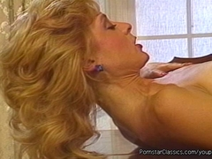 Dirty porn star Nina Hartley fucking girls and boys