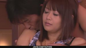 Maika shows her suck and fuck talents in japan blowjob videos