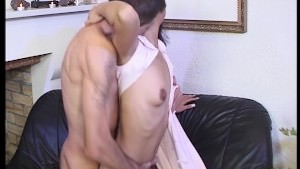 Young Asian Squirts a Gusher!
