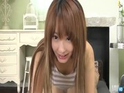 Horny guy has a fun time with cute Japane ...