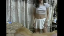Cute Korean Webcam Dancing Part I