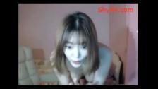 Beautiful Korean Teen Showing Big Tits